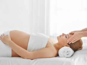 masaža za nosečnice